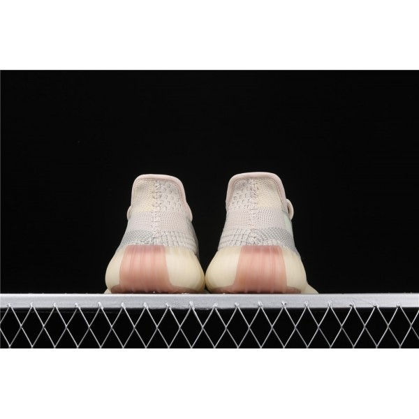 Men & Women Adidas Yeezy Real Boost 350 V2 In Cream Gray