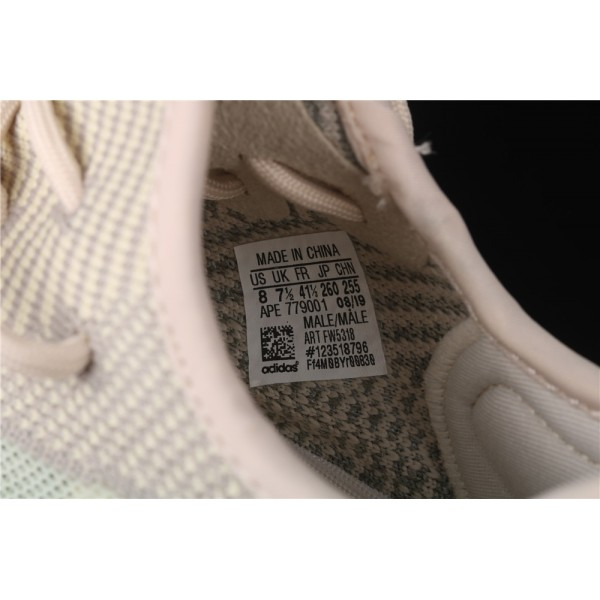 Men & Women Adidas Yeezy Real Boost 350 V2 In Sand Gray