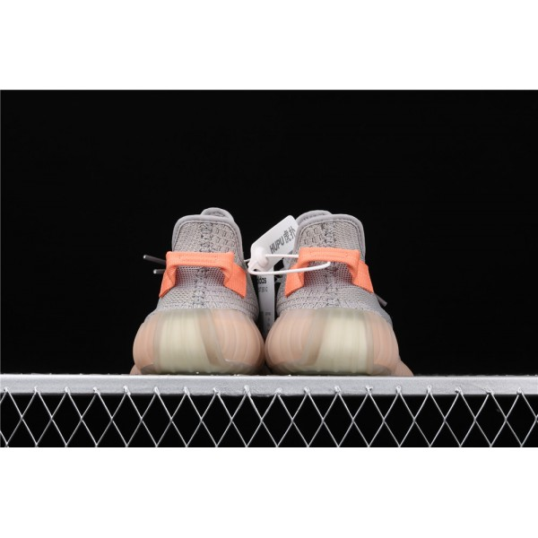 Men & Women Adidas Yeezy Real Boost 350 V2 True Form In Gray