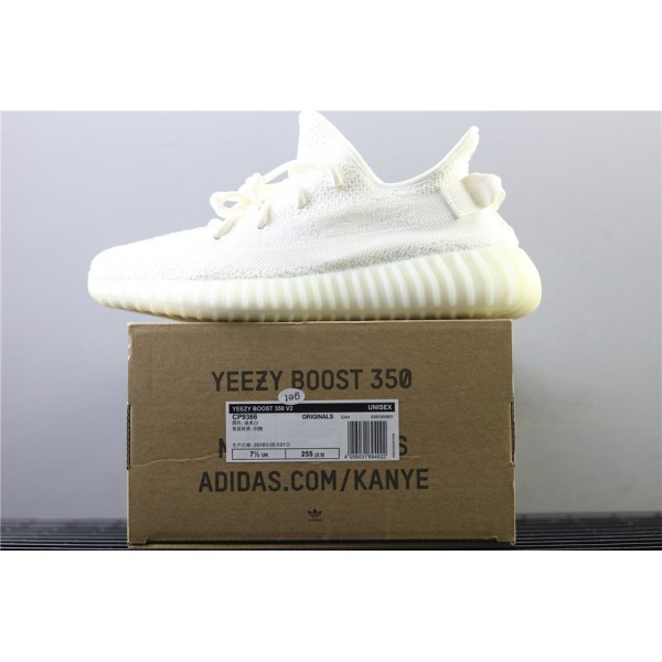 Men & Women Adidas Yeezy Real Boost 350 V2 Real Basf In Fluorescent White
