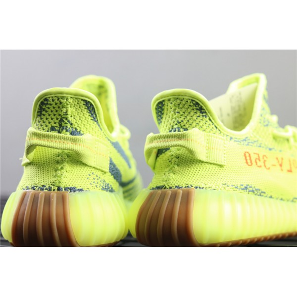 Men & Women Adidas Yeezy Real Boost 350 V2 Real Basf In Yellow