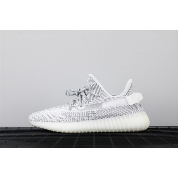 Men & Women Adidas Yeezy Real Boost 350 V2 Real Basf Shoe Static In Light Gray