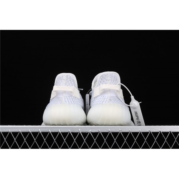 Men & Women Adidas Yeezy Real Boost 350 V2 Real Basf Shoe Static In White