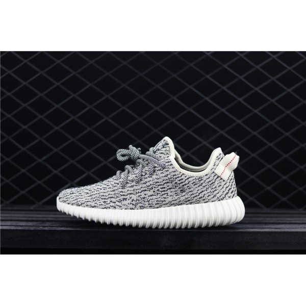 Men & Women Adidas Yeezy Real Boost 350 Basf In Black Grey