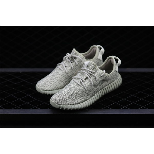 Men & Women Adidas Yeezy Real Boost 350 Basf In Gray Green