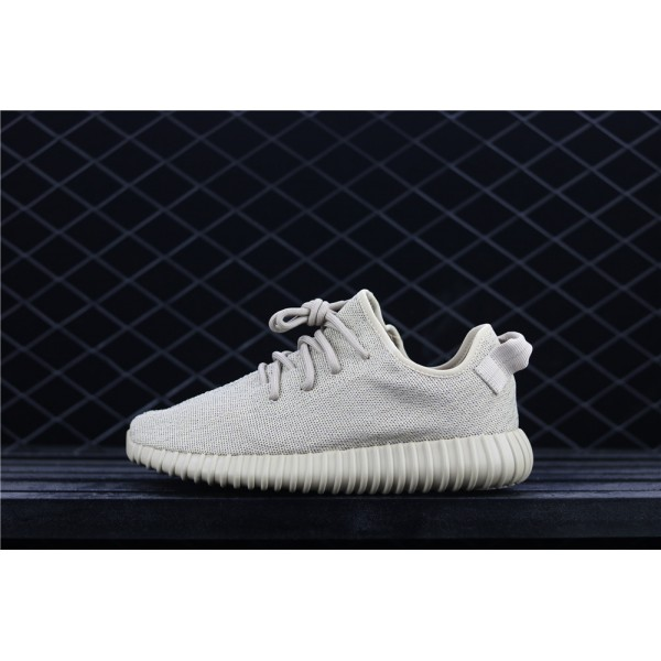 Men & Women Adidas Yeezy Real Boost 350 Basf In Light Grey