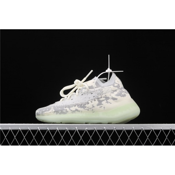 Men & Women Adidas Yeezy Real Boost 380 V3 Alien In Cream Grey