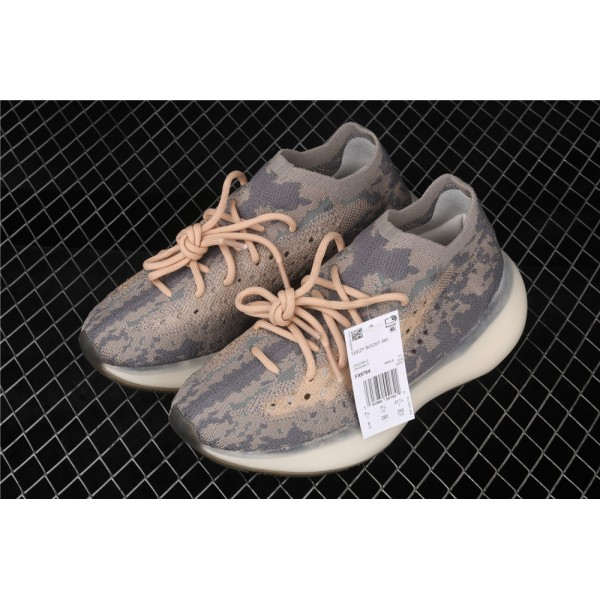 Men & Women Adidas Yeezy Real Boost 380 V3 In Grey Orange