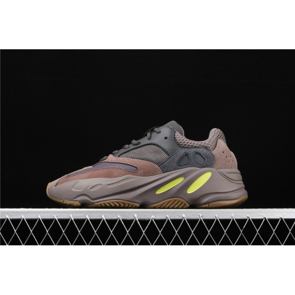 Men & Women Adidas Calabasas Yeezy Real Boost 700 Runner In Brown Gray