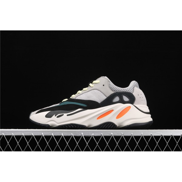 Men & Women Adidas Calabasas Yeezy Real Boost 700 Runner In Grey Black