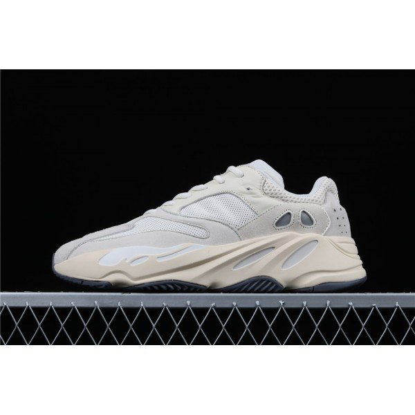 Men & Women Adidas Yeezy Real Boost 700 Analog In Light Gray Cream