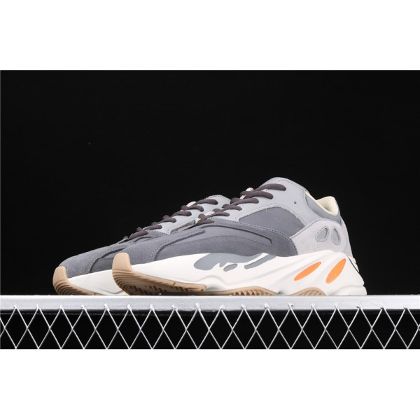 Men & Women Adidas Yeezy Real Boost 700 Magnet In Grey Cream