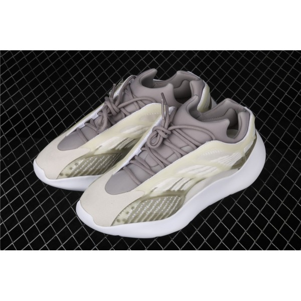 Men & Women Adidas Yeezy Real Boost 700 V3 In Army Green Whirte