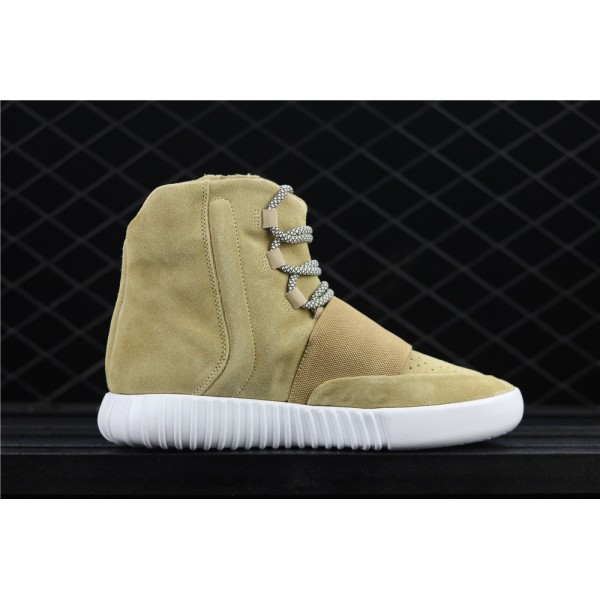 Men & Women CDG PLAY x 750 Yeezy Basf Real Boost In Olive