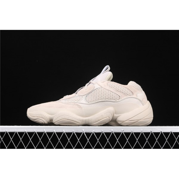 Men & Women Adidas Yeezy Desert 500 In Cream