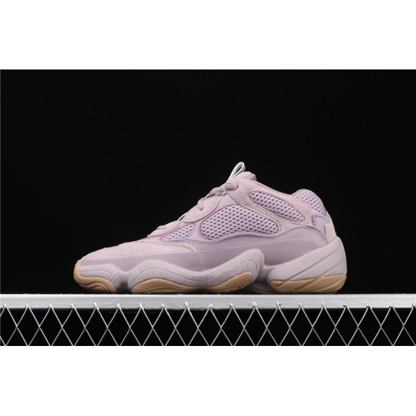 Men & Women Adidas Yeezy Desert 500 Soft Vision In Violet