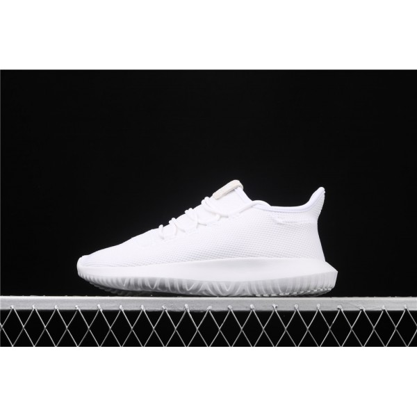 Men & Women Adidas Original Tubular Shadow In Full White