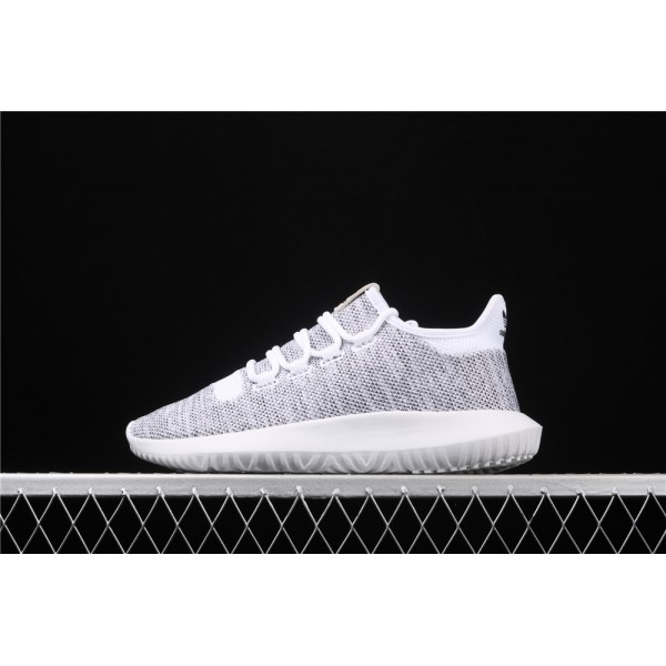 Men & Women Adidas Original Tubular Shadow In White
