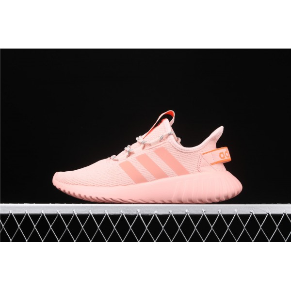 Men & Women Adidas Tubular Doom Sock PK In Pink Orange