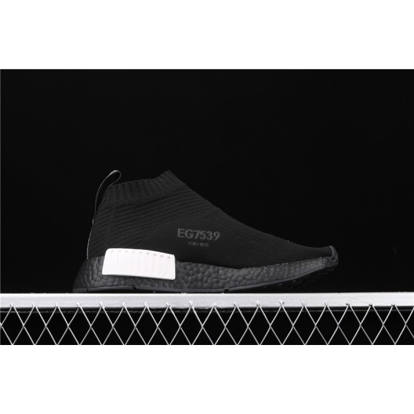 Men & Women Adidas NMD Boost CS1 PK Cloud Black EG7539