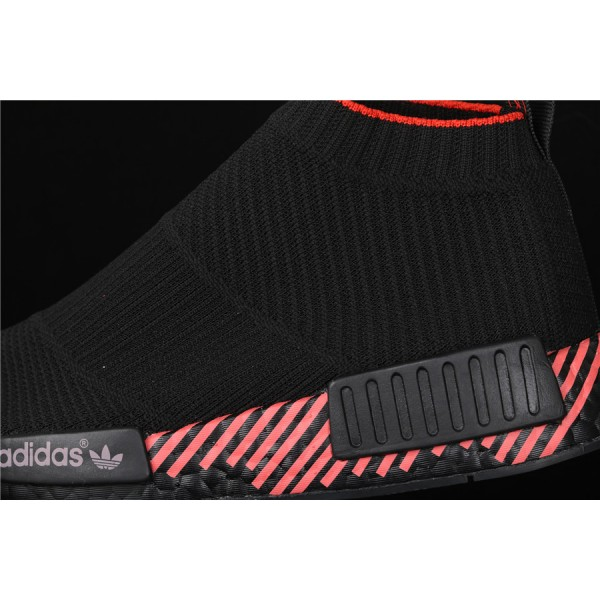 Men & Women Adidas NMD Boost CS1 PK Cloud Black G27354