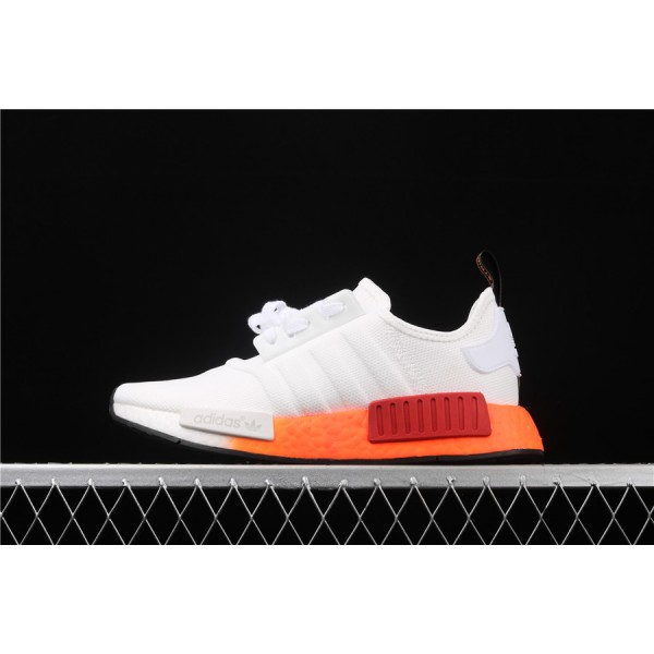 Men & Women Adidas NMD Boost R1 V2 In Cream Orange