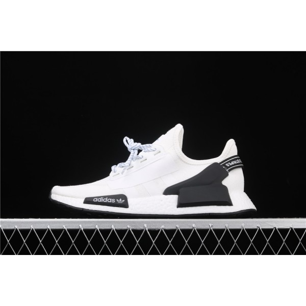 Men & Women Adidas NMD Boost R1 V2 In Cream Black