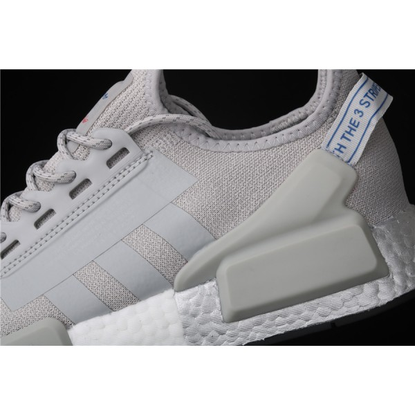 Men & Women Adidas NMD Boost R1 V2 FW5328 Grey