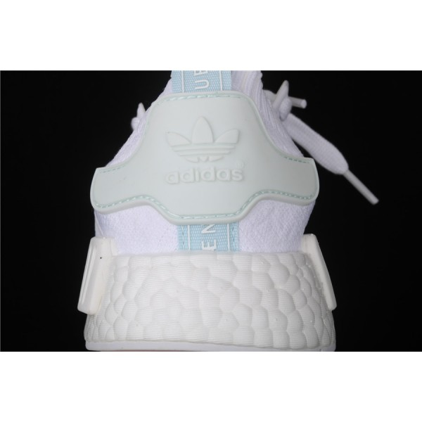 Men & Women Adidas NMD Boost R1 CQ2040 White