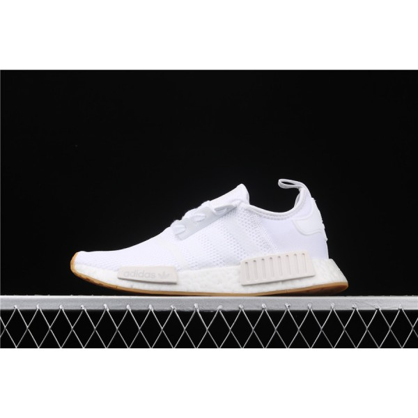 Men & Women Adidas NMD Boost R1 D96635 White