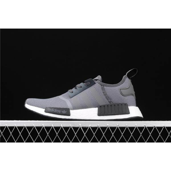 Men & Women Adidas NMD Boost R1 DA9298 Dark Gray