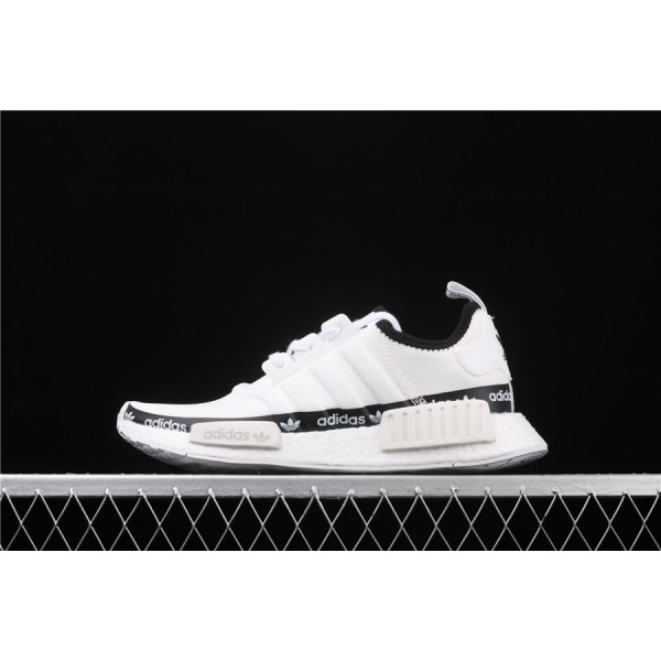 Men & Women Adidas NMD Boost R1 FV7306 Cream Black