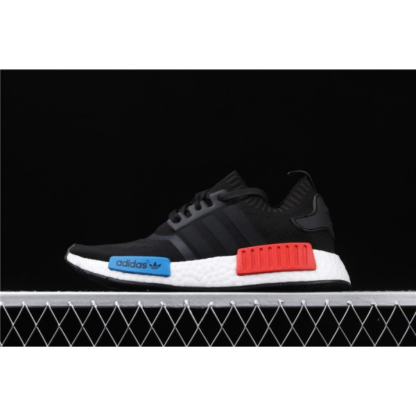 Men & Women Adidas NMD Boost R1 PK S79168 Black