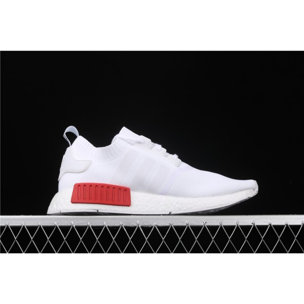 Men & Women Adidas NMD Boost R1 S79482 White