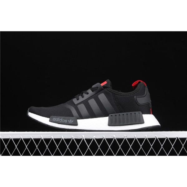 Men Adidas NMD Boost R1 B42087 In Black