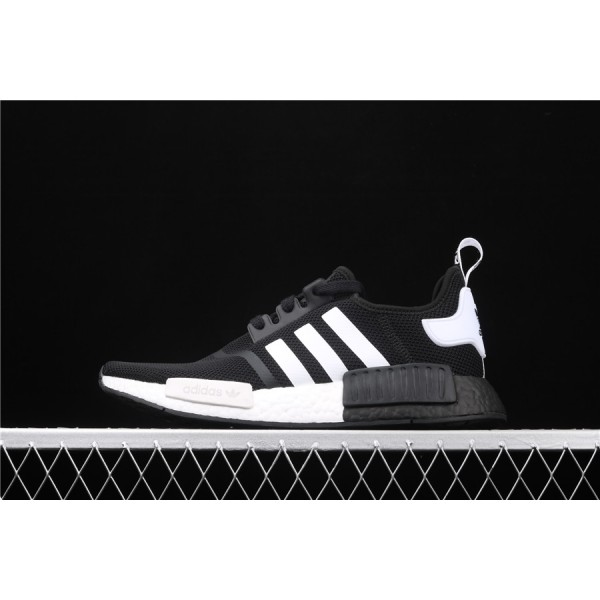 Men Adidas NMD Boost R1 B8031 In Black White