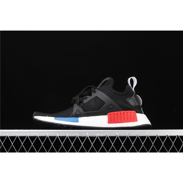 Men & Women Adidas NMD Boost Primeknit Runner XR1 In Black White