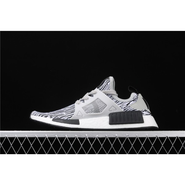 Men & Women Adidas NMD Boost Primeknit Runner XR1 In Stripe