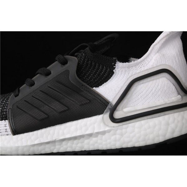 Men & Women Adidas Ultra Real Boost 19W 5.0 In Black White