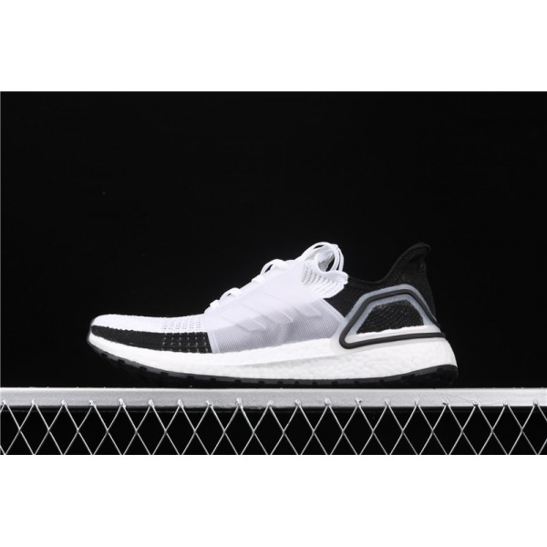 Men & Women Adidas Ultra Real Boost 19W 5.0 In White Black