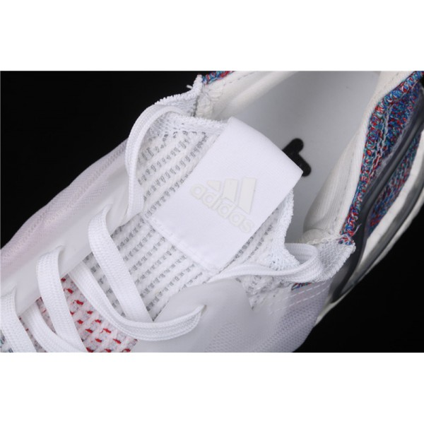 Men & Women Adidas Ultra Real Boost 19W 5.0 In White Colorful