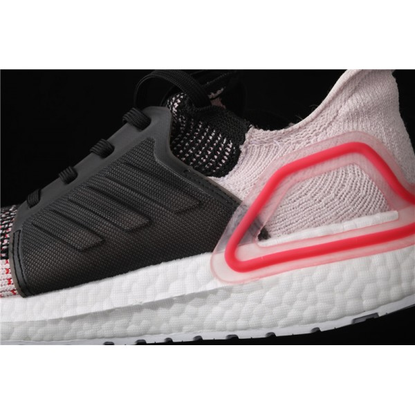 Men Adidas Ultra Real Boost 19W 5.0 In Black Red