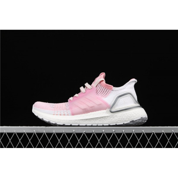 Women Adidas Ultra Real Boost 19W 5.0 F35283 Pink White