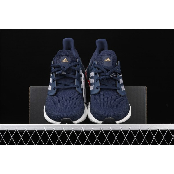 Adidas Ultra Real Boost 20 Consortium Blue In White