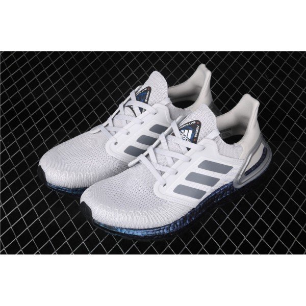 Adidas Ultra Real Boost 20 Consortium Blue In Grey
