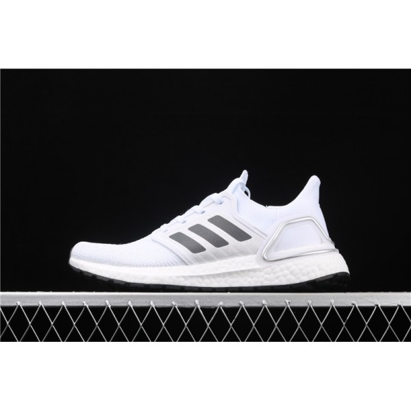Men & Women Adidas Ultra Real Boost 20 Consortium In White Black
