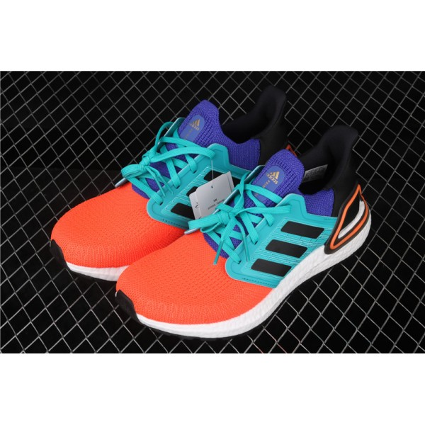Men & Women Adidas Ultra Real Boost 20 Consortium In Orange Blue