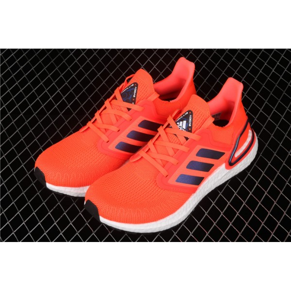 Men & Women Adidas Ultra Real Boost 20 Consortium In Orange White