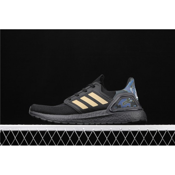Men & Women Adidas Ultra Real Boost 20 Consortium In Black Golden