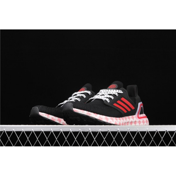 Men & Women Adidas Ultra Real Boost 20 Consortium In Black Red